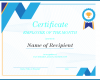Free Printable Employee Of The Month Certificate Template