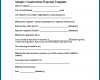 Free Printable Contract Proposal Template