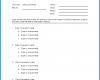 Free Printable Multiple Choice Template Word