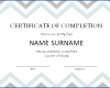 Free Printable Training Completion Certificate Template